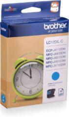 Cyane Brother LC125XLC - Inktcartridge / Cyaan / Hoge Capaciteit