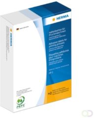 Etiketten Herma 2953 voor drukmachines DP1 34x53 mm blauw papier mat 2500 st.