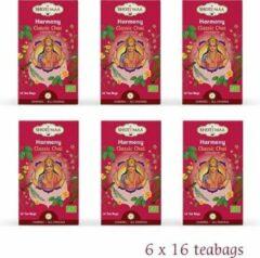 Shoti Maa Chakras Harmony-Je Comprends Klassieke Chai Thee BIO (6 doosjes thee)