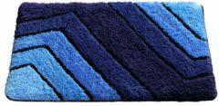 Badmatten Qualitz Webschatz blauw