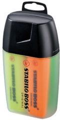 STABILO BOSS Original Tekstmarkers Schuine punt 2 - 5 mm Kleurenassortiment 4 Stuks