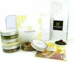 Dutch Tea Maestro Thee cadeau - Thee geschenk - Zelf thee maken pakket - Happy