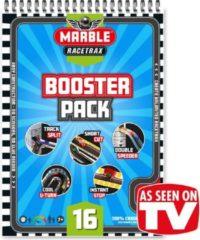 Grijze Marble Racetrax - Knikkerbaan - Racebaan - Booster Pack - Uitbreidingspakket - 16 Sheets