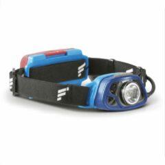 Favour LED hoofdlamp H1532, 250 lumen, IPX4 waterdicht, licht- en bewegingssensor, rood licht voor achterlicht, verstelbare lichtkop, incl. batterijen