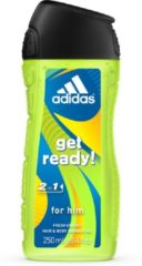 Adidas Men Showergel / Shampoo - Get Ready 3in1 - 250 ml