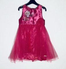 Disney Frozen jurk satijn/tule fuchsia maat 116