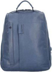 Pulse Rucksack Leder 42 cm Laptopfach Piquadro blue