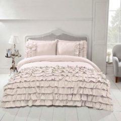 Gebroken-witte Beau Maison - Saint Martin - Off White - Lits Jumeaux - 240 x 200/220 cm