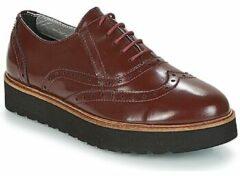 Bordeauxrode Nette schoenen Ippon Vintage ANDY THICK