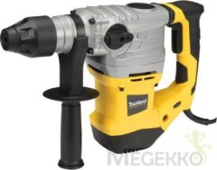 Toolland TM81008 Boorhamer 1500 W - Incl. BMC-koffer, 3 SDS-plus boren en 2 SDS-plus beitels