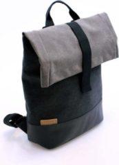 Zwarte Cortina Denim Backpack Memphis Antracite mt M
