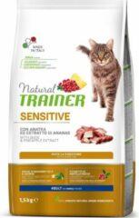 Natural trainer cat sensitive duck kattenvoer 1,5 kg