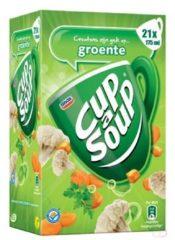Cup a Soup Cup-a-Soup groenten met croutons, pak van 21 zakjes