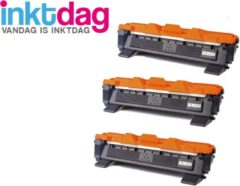 Inktdag huismerk Brother TN1050 XXL zwart toner cartridge (3 stuk)