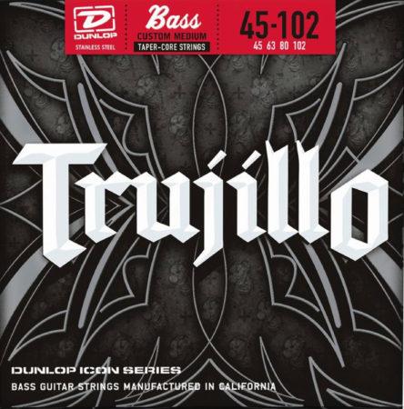 Afbeelding van Dunlop Robert Trujillo Icon Bass Set 4 String 045 bassnarenset