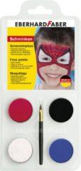 Eberhard Faber Schminkset EFA Spiderman - met 4 kleuren, penseel en