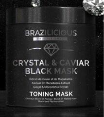 BraziliCious Anti- yellow Crystal & Caviar Mask 500 gr