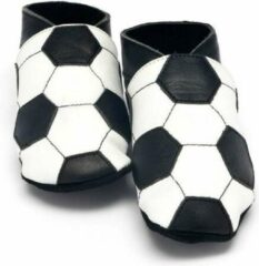 Zwarte Babyslofjes Baby Dutch voetbal