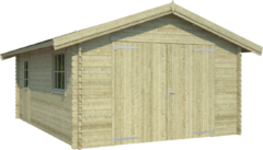 Outdoor Life Products Outdoor Life | Garage Yarik | Groen Geïmpregneerd | 560x400 cm
