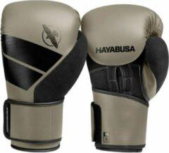 Beige Hayabusa S4 (kick)bokshandschoenen Clay/Zwart 16oz