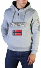 Grijze Geographical Norway Sweathirts Heren Trui Maat L