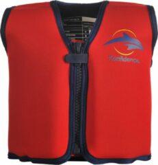 Konfidence - Zwemvest/Drijfvest kind - Rood - 6-7 jaar / 25-30 kg