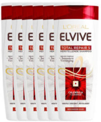 L'Oréal Paris Elvive Hair Expert Elvive Total Repair shampoo - 6x 250ml multiverpakking 6 stuks