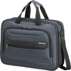 Blauwe Samsonite Laptopschoudertas - Vectura Evo Laptop Bailhandle 15.6 inch Blue