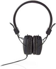 Nedis HPWD1100BK Hoofdtelefoon Met Snoer On-ear Opvouwbaar 1,2 M Ronde Kabel Zwart
