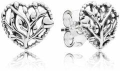 Pandora Oorbellen 297085 zilver Flourishing Hearts