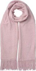 Clayre & Eef Sjaal - 68*180 cm - roze - 100% polyester - juleeze - JZSC0490