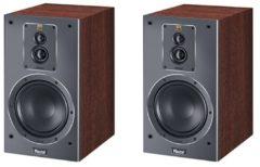 Zwarte Magnat Signature 503 stereo boekenplank luidspreker - Walnoot (per paar)