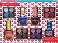 Paarse Body Collection Eden Line Them Up Nagellak en Oogschaduw Set