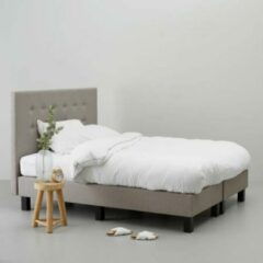 Taupe Wehkamp home complete boxspring Quebec (180x210 cm)