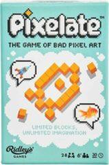 Ridley's Games Room Ridley's Games Pixelate Game Hout/papier Oranje (en)
