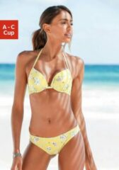 Gele Sunseeker push-up-bikinitop