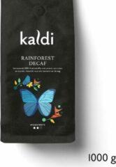 Kaldi Koffiebonen Rainforest Decaf - 1000 gram