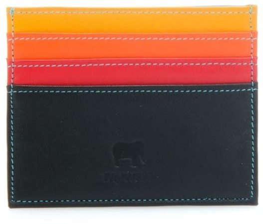 Afbeelding van Zwarte Mywalit Double Sided Credit Card Holder Pasjeshouder Black Pace MYW-160-4-N