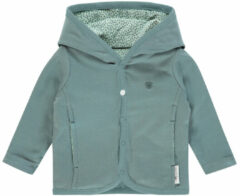Grijze Noppies U Cardigan rev Haye - Grey Mint - Maat 50