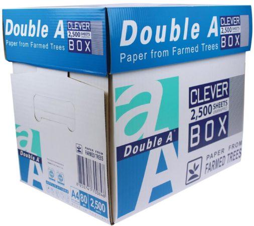 Afbeelding van Printpapier Double A Non Stop Box 10330042324 DIN A4 80 g/m² 2500 vellen Wit
