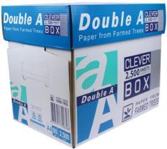 Double-A Non Stop Box 10330042324 Printpapier DIN A4 80 g/m² 2500 vellen Wit