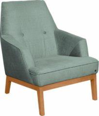 TOM TAILOR Sessel »COZY« im Retrolook, mit Kedernaht und Knöpfung, Füße Buche natur