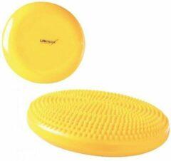 Lifemaxx Air stability disc - Balanskussen - Air stepper - geel