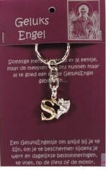 Steengoed Geluksengel Sleutelhanger S (1st)