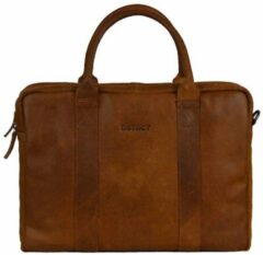DSTRCT Main Street Workingbag 15.6'' cognac