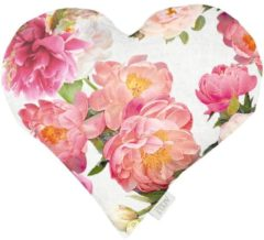 Herzkissen 'Adina' Apelt rosa