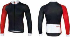 XLC - Fietsshirt Race Lange Mouw - Blauw/Rood - maat M