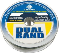 Grijze Maver Monofilament Dual Band - 150m - 0.32mm