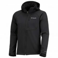 Zwarte Columbia Cascade Ridge II Heren Softshell Outdoorjas - Black - Maat L