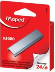 Grijze Maped Office Maped nietjes 24/6 doos van 2.000 nietjes